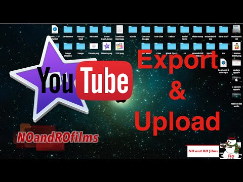 How to Export & Upload to YouTube in iMovie 10.1