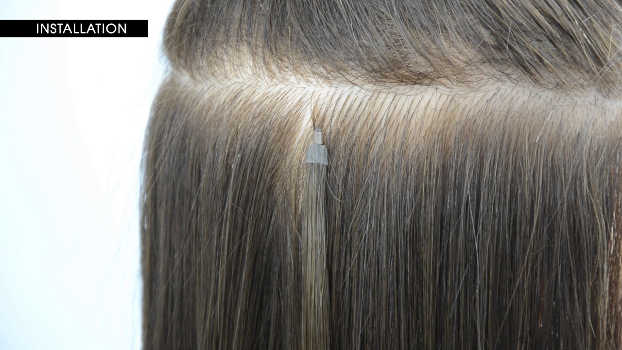 How To Install Y Tip Hair Extensions By Le Prive Youtube