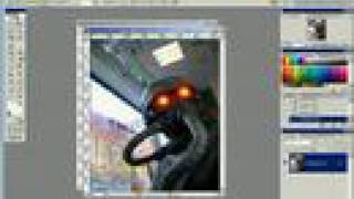Photoshop Tutorial: Killzone Glowing Eyes Effect