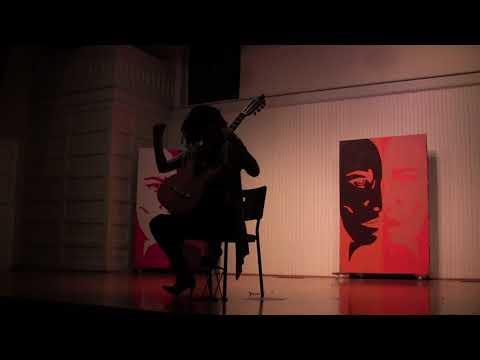 Anna Leone, Classical Guitar Recital, November 2, 2018