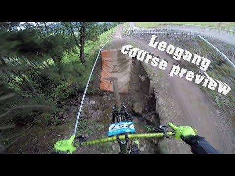 Leogang european Downhill cup 2017/ Gabriel Wibmer