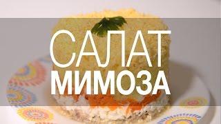 Салат Мимоза. Классический рецепт