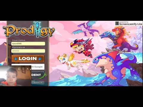 Prodigy Math Game - Modded Account Giveaway