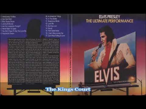 Elvis Presley - The Ultimate Performance - Full Album