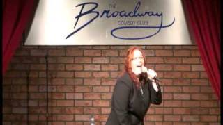 Sharon Gabaree - Can't Spank - 2009 08 15 Broadway Comedy Club