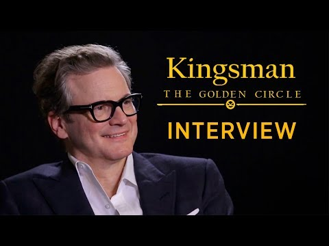 Is Bridget Jones In Kingsman 3? | Kingsman The Golden Circle Interview