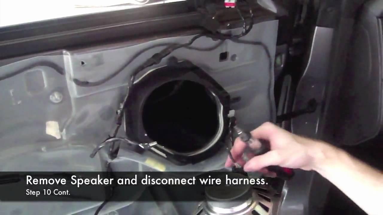 2005 2009 Mustang Component Speaker Install Youtube Rockford Fosgate Speakers