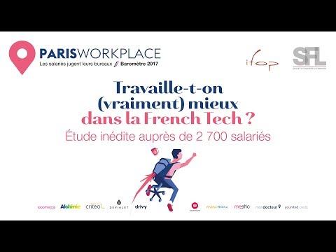 Paris Workplace Ifop-SFL 2017 spécial French Tech
