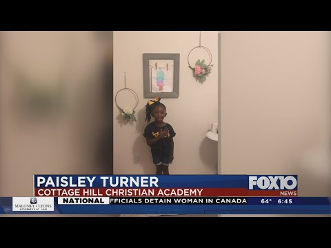 The Pledge Paisley Turner Cottage Hill Christian Academy