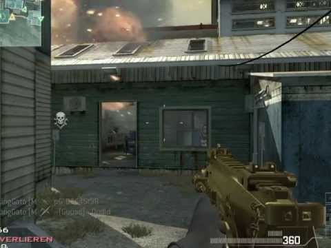 CoD MW3 Team Deathmatch Carbon FUCKING GATO Aimbot Cheater