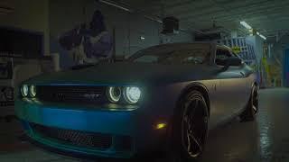 2016 Dodge Challenger SRT Hellcat Car Wrap