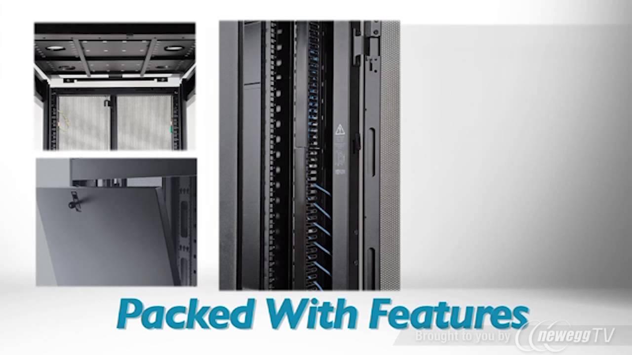 Tripp Lite Sr42ubkd 42u Rack Enclosure Server Cabinet