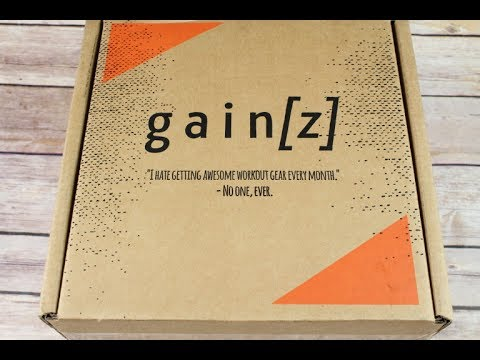 Gainz Box May 2017 Fitness Subscription Box Unboxing + Coupon #gainz