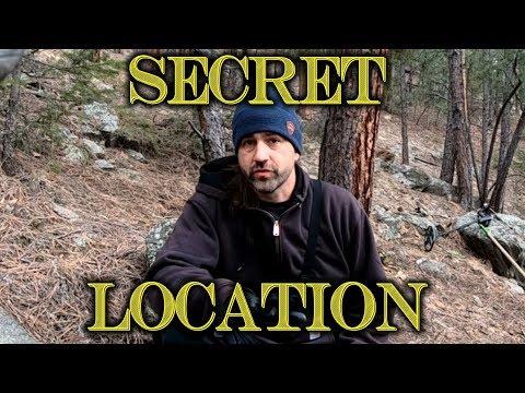 Metal Detecting the Secret Mountain Stream