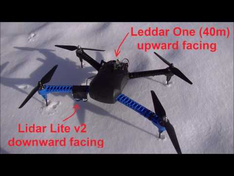 Copter Object Avoidance with upward facing lidar - Blog