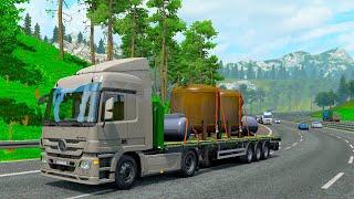 Закончился Бензин или Глюк ЕТС? - Euro Truck Simulator 2