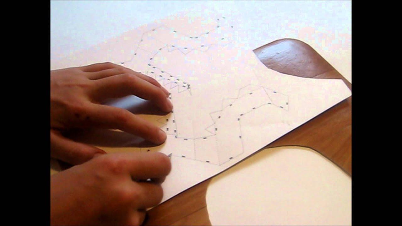 шлем железного человека из бумаги схема