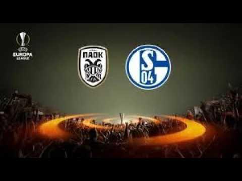 Shalke 04 vs paok salonique en streaming 22 02 2017 youtube for Paok salonique