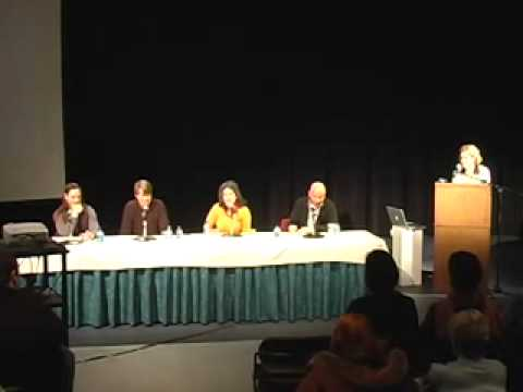 Artist panel discussion on Form & Story