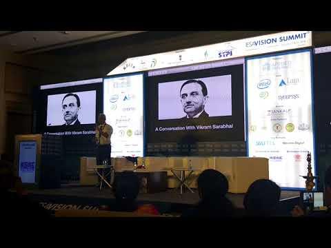 Raja Sarabhai Award 27Feb18   A Conversation With Vikram Sarabhai