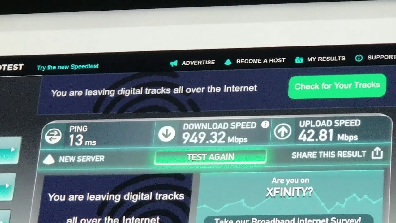 Comcast Xfinity Gig Speed Internet First Impression