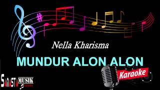 Download lagu Mundur Alon Alon - Karaoke