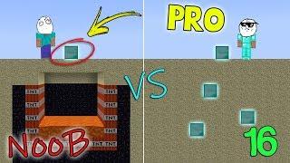NOOB VS PRO - MINECRAFT 16