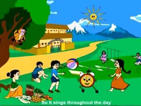 rhymes in english-rhymes for children-rhymes on Tick-tock Tick tock-rhymes for kids-rhymes