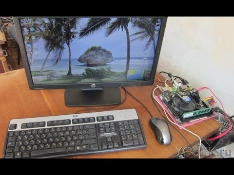 Как подключить монитор к