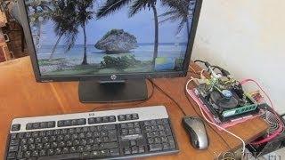 Qanday kompyuter uchun monitor ulash uchun