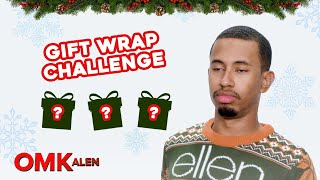 Kalen Attempts to Wrap 3 Gifts in 5 Minutes