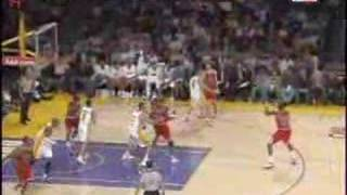 LA Lakers 106 - 78 Chicago Bulls NBA 2007/2008 Highlights
