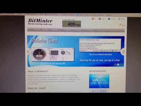 Quick Easy Cheap Bitcoin Mining With Bitminter Antminer