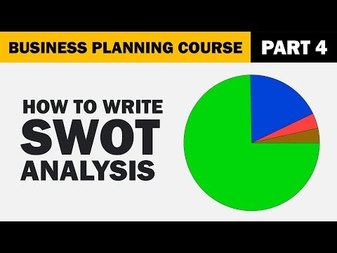 How To Write A SWOT Analysis For Your Business Plan?