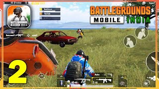 BATTLEGROUNDS MOBILE INDIA Android BETA Gameplay - Part 2