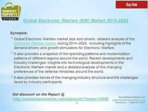 Global Electronic Warfare EW Market Industry 2014 2024