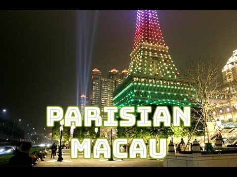 [HD] Walk Through of Macau's new Parisian Casino Resort