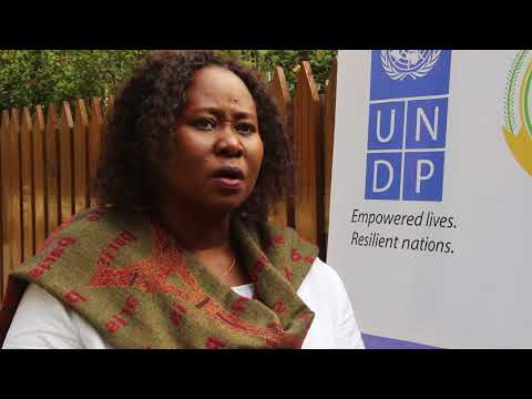 Elizabeth Atyang Eilor - UNDP Gender Advisor