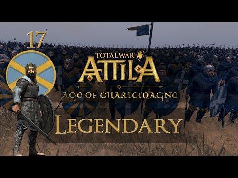 Total War: Attila - AoC (Legendary) - Kingdom of Mercia - Ep.17 - British Isles!