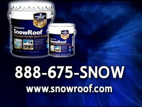 What S New Kst Coatings Snow Roof Youtube