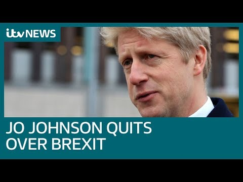 Jo Johnson quits as transport minister over Brexit direction | ITV News