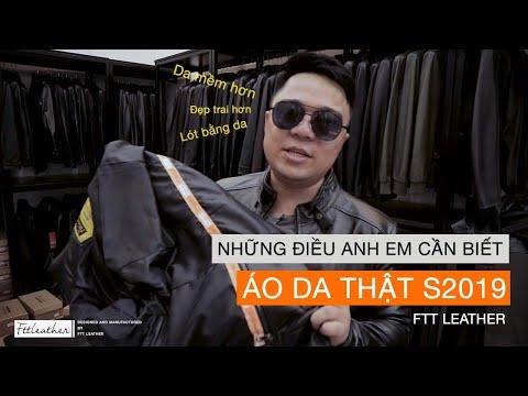 Áo Da Nam 2019, Những điều Cần Biết Về Dòng áo Da Thật S2019 - FTT Leather