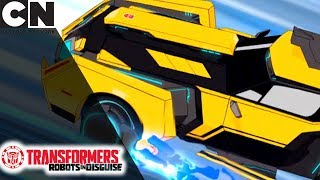 Transformers: Robots in Disguise | Abeja Puede Volar | Cartoon Network