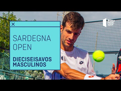 Resumen Dieciseisavos de Final (primer turno) Sandegna Open