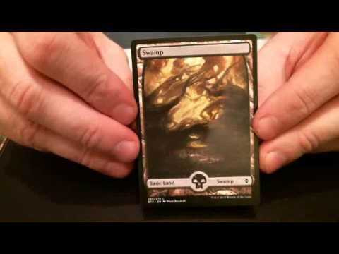How To Determine What Rarity A Magic The Gathering Card Is Youtube