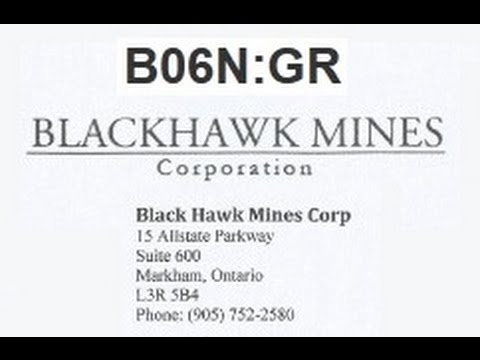 B06N UNCOVERED Amazon Gold - Bentley Fairview R - Blackhawk Mines Corp by Economic Frauds Inc