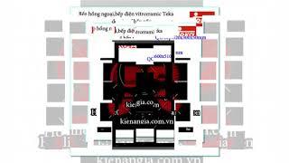 BẾP HỒNG NGOẠI TEKA,BẾP ĐIỆN VITRO CERAMIC TEKA MẪU MỚI 2017 CHIẾT KHẤU CAO