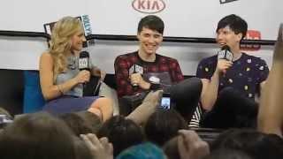 Danisnotonfire & AmazingPhil Q&A-VidCon 2014