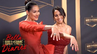 Bella Twins are OFFICIALLY Inducted! Bella Hall of Fame Diaries