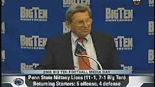 JOEPA Penn State News Conference 8/1/06 (Pt. 2 of 2)